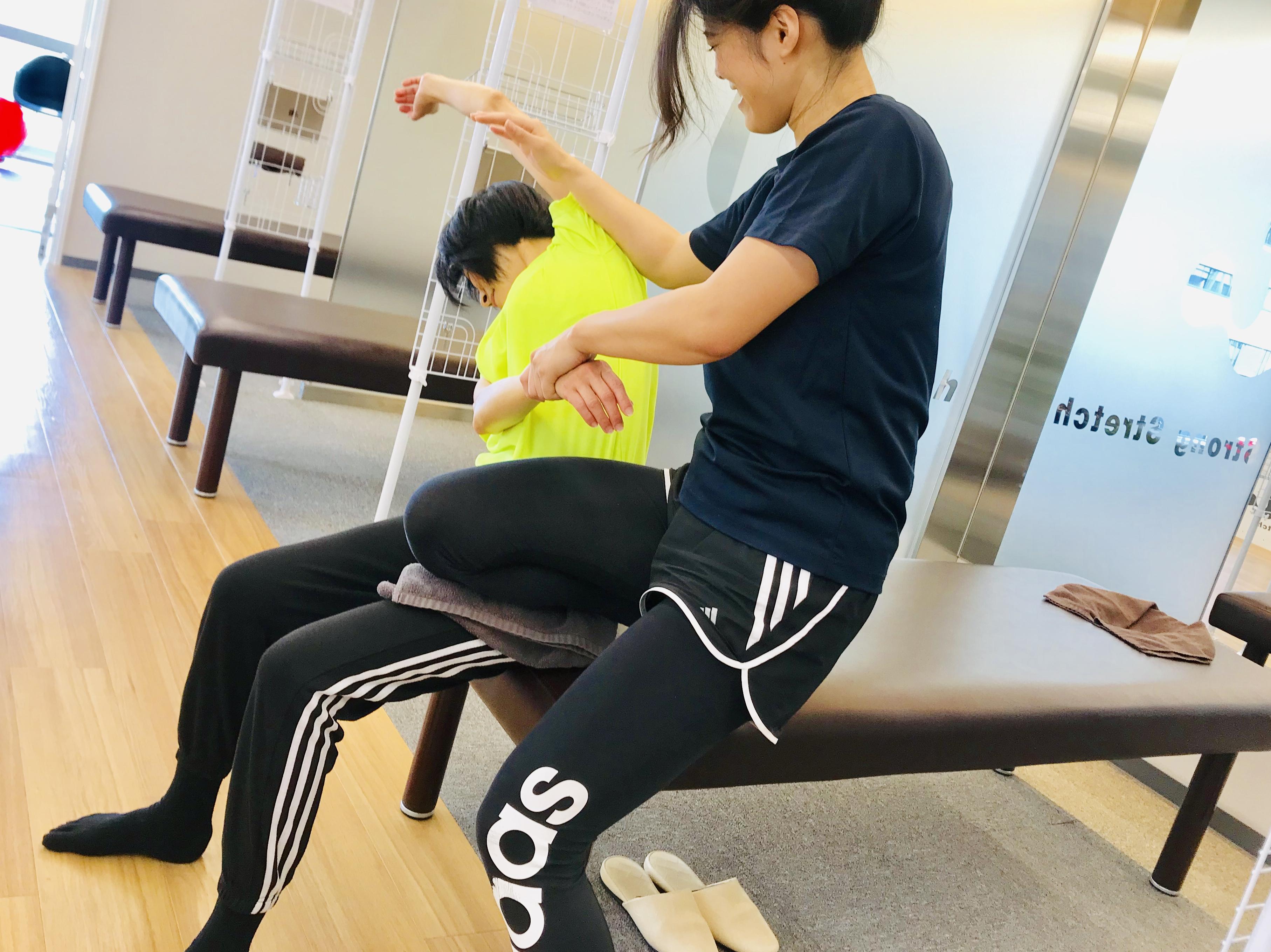 『 ストレッチとトレーニングで脚のラインが 確実に変わった!』